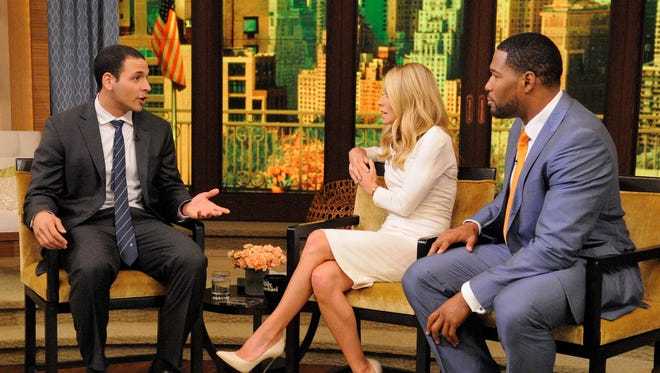 Fired local North Dakota news anchor A.J. Clemente lands a job on today's 'Live with Kelly and Michael' show.