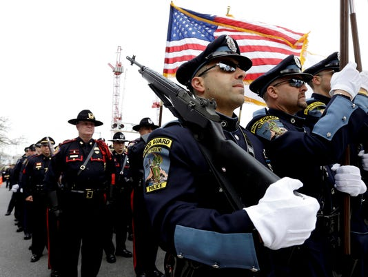 Thousands mourn as MIT officer Sean Collier laid to rest