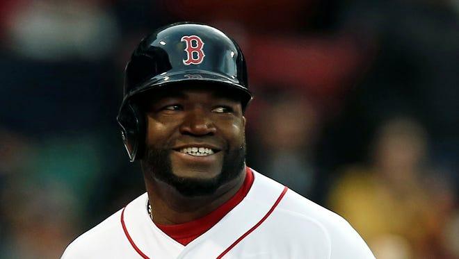 Boston Red Sox's David Ortiz.