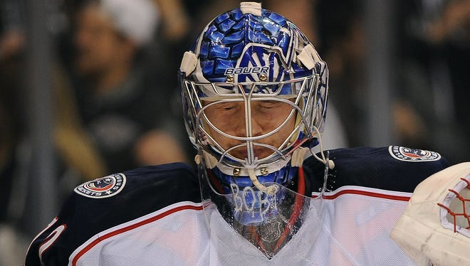 Goalie Sergei Bobrovsky has pulled the Columbus Blue Jackets into the playoff hunt.