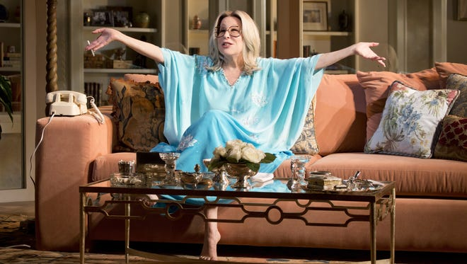 Better Midler plays Hollywood agent Sue Mengers in 'I'll Eat You Last: A Chat with Sue Mengers,' at the Booth Theatre in New York.
