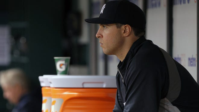 """Mark Teixeira on wrist injury: """"There's no setbacks, it just hasn't loosened up yet."""""""