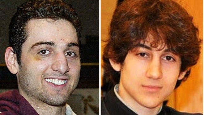 Brothers Tamerlan Tsarnaev, 26, left, and Dzhokhar Tsarnaev, 19.