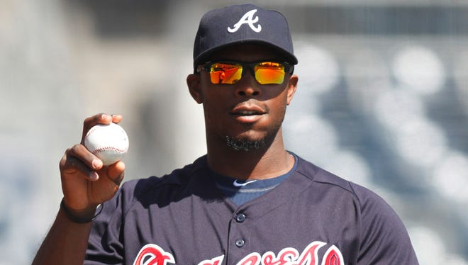 Braves outfielder Justin Upton has made many fantasy owners regreting not drafting him in their leagues.