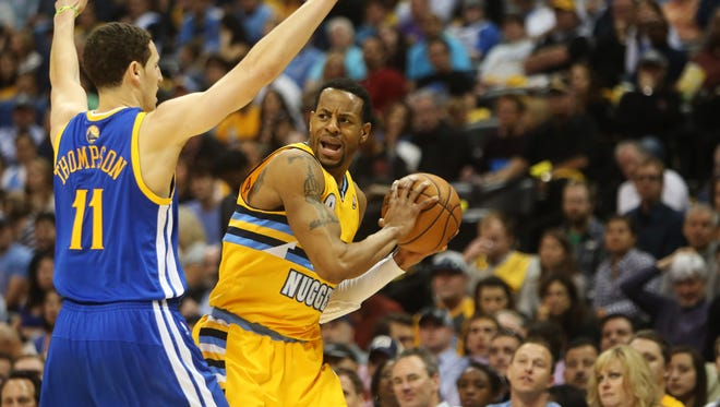 The Golden State Warriors and Denver Nuggets are tied 1-1 after two games.