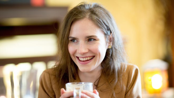 """Amanda Knox spoke with USA TODAY's Susan Page about why she wrote her book, """"Waiting to be Heard,"""" what could bring her closure and how she's been changed by her sensational murder trial and four years in an Italian prison."""