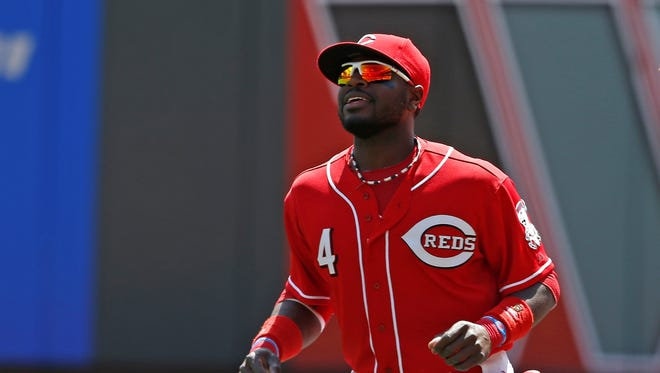 Cincinnati Reds second baseman Brandon Phillips.