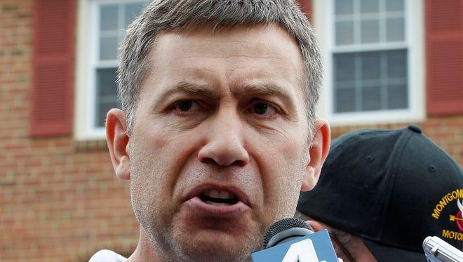 Ruslan Tsarni, uncle of the Boston Marathon bombing suspects, speaks to the media.