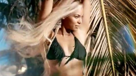 'Mrs. Carter' stars in a new ad for H&M.