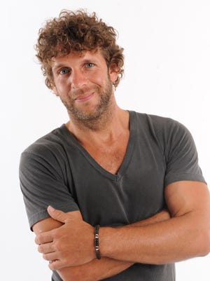 Billy Currington poses for a portrait at LP Field during the 2010 CMA Music Festival.