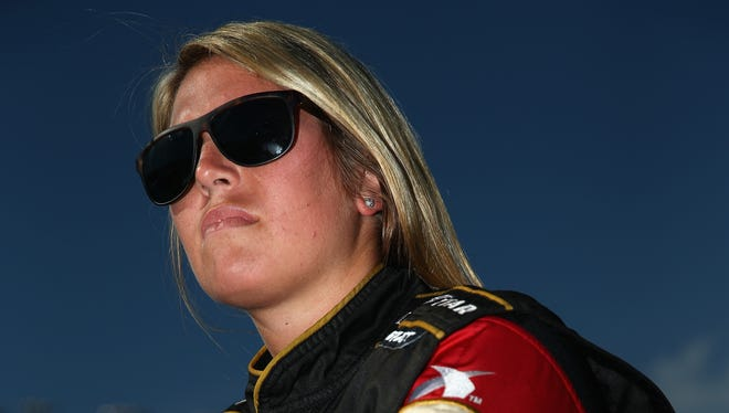 Johanna Long has finished a career-high 12th twice on the Nationwide Series in 25 races.