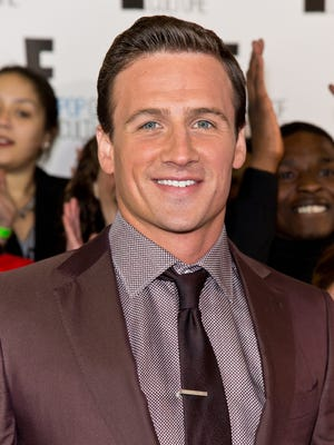 Olympic swimmer Ryan Lochte attends the E! 2013 Upfront at The Grand Ballroom at Manhattan Center in New York.