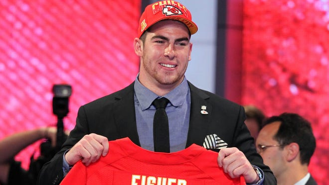 The Kansas City Chiefs selected offensive tackle Eric Fisher (Central Michigan) with the first overall pick of the 2013 NFL draft.