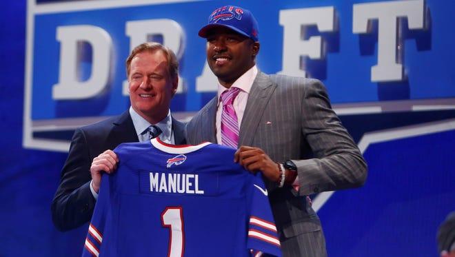 16. E.J. Manuel, QB, Florida State to the Buffalo Bills.