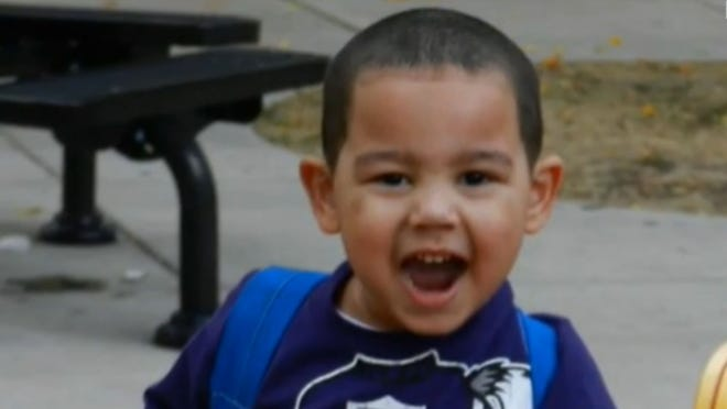AJ Whylly, 4, of Marshall, Minn., inadvertently was left behind at the Children's Museum of South Dakota. His classmates boarded the bus to go home, but he wasn't on it.