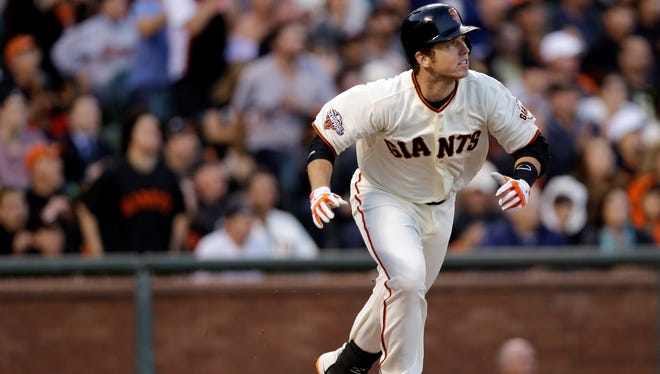 Giants catcher Buster Posey is one of the most talented young players at his position.