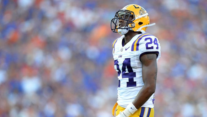 Former LSU defensive back Tharold Simon was projected to be picked in the third or fourth round of the draft.
