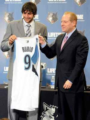 Drafting Ricky Rubio has been one of David Kahn's best moves as Timberwolves president of basketball operations.