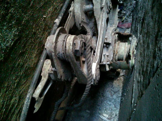 NYPD: Part of 9/11 plane's landing gear found