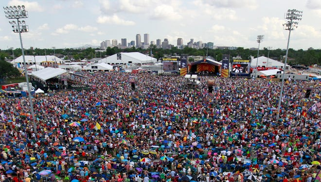 New Orleans Jazz and Heritage Festival in New Orleans