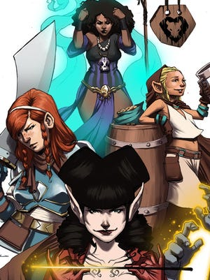 "A foursome of hard-living monster killers star in Image Comics' ""Rat Queens,"" debuting in September."