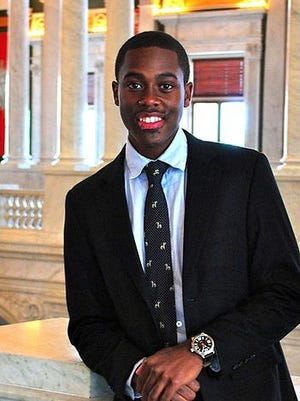 Rashawn Davis, a junior at Georgetown University, is running for city council in his hometown of Newark, N. J.