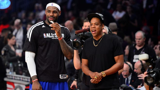 LeBron James and Jay-Z have a long friendship, but that doesn't mean they will go into business together.