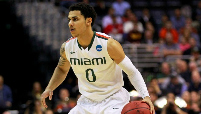 Shane Larkin averaged 14.5 points and 4.6 assists for Miami (Fla.) as a sophomore.