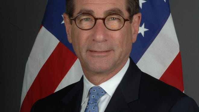 Alan Solomont, a Boston native, is the U.S. ambassador to Spain.