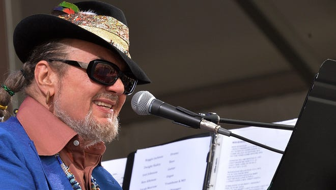 Dr. John and the Nite Trippers perform during the 2013 New Orleans Jazz & Heritage Music Festival in New Orleans on Friday.