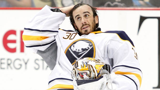 Buffalo Sabres goalie Ryan Miller has a year left on his contract.