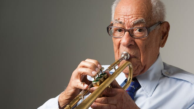 Trumpeter Lionel Ferbos, 101, is said to have played every JazzFest since the very first festival in 1970.
