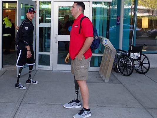 War amputees to Boston's injured: 'Life's not over'