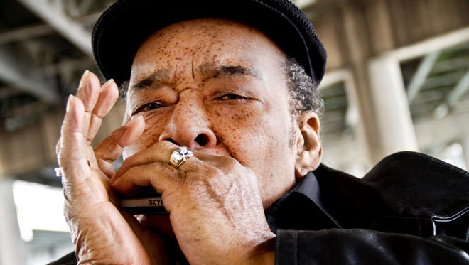 """Bluesman James Cotton will release his """"Cotton Mouth Man"""" album May 7."""