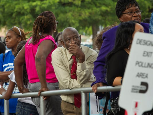 In a first, black voter turnout rate passes whites