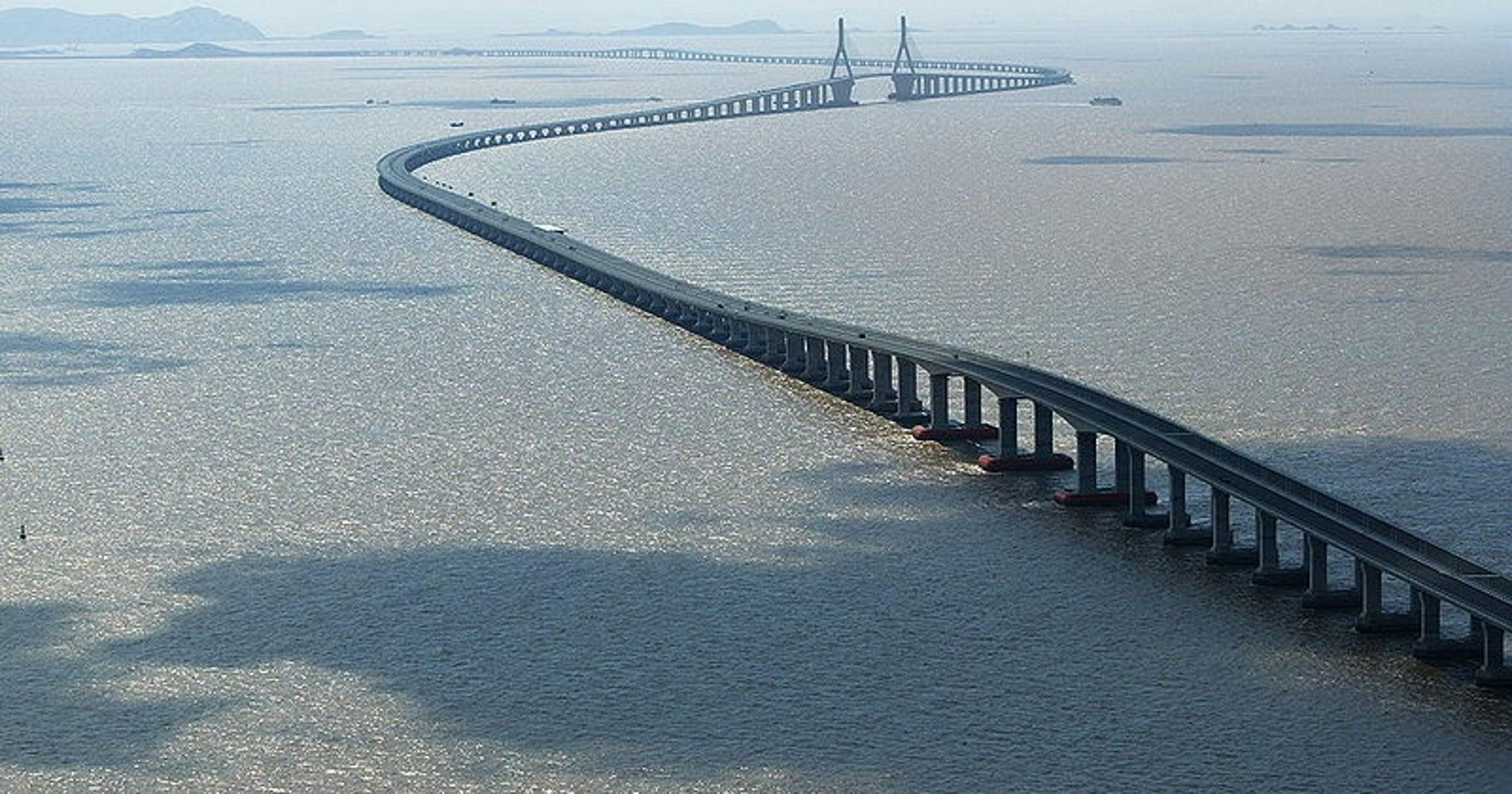 10 longest bridges to drive across