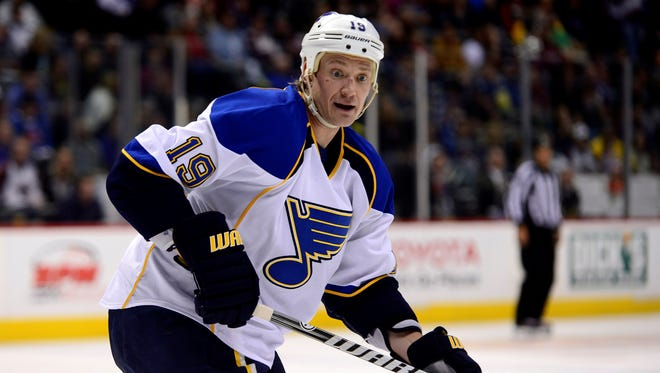St. Louis Blues defenseman Jay Bouwmeester will be making the first playoff appearance of his NHL career.