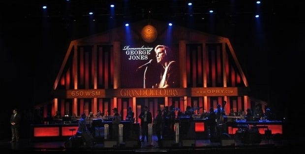 Artists pay tribute to George Jones, who died Friday at age 81.