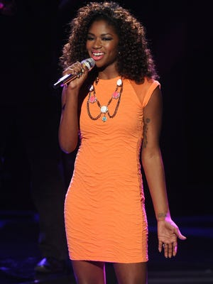 Amber Holcomb performs April 24, 2013, on 'American Idol.'