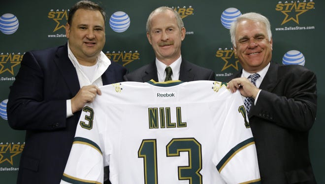 New Stars general manager Jim Nill was the assistant GM in Detroit for 15 years, playing a crucial role in the team's success. The Red Wings have made the playoffs in 22 straight seasons.