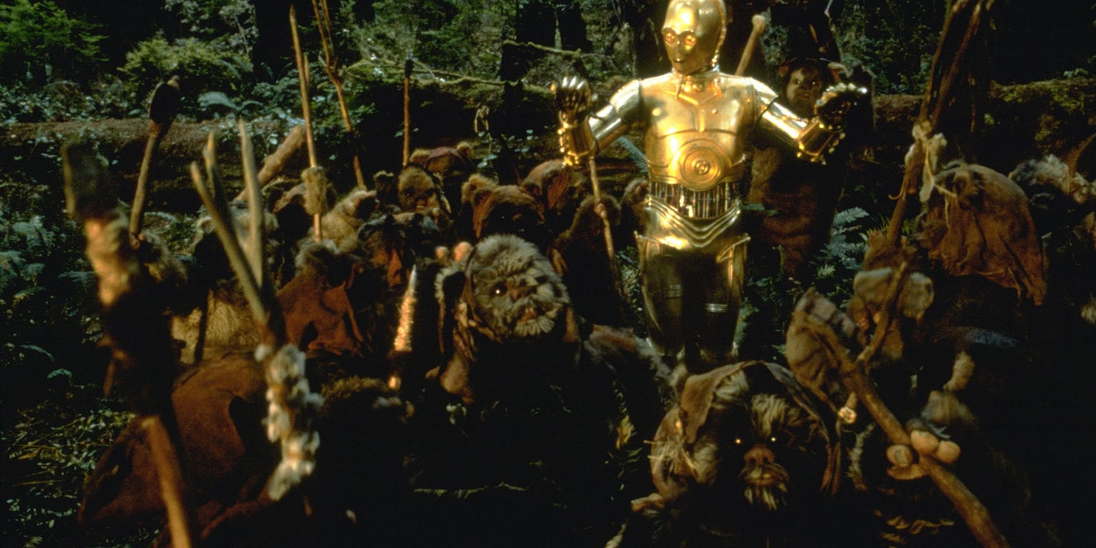 Star Wars' star recalls his time as king of the Ewoks