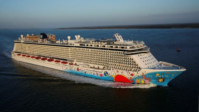 Norwegian Cruise Line's newest ship, the 4.028-passenger Norwegian Breakaway, set sail with passengers for the first time on April 26, 2013. What's the vessel like? USA TODAY's Gene Sloan offers a photo tour.