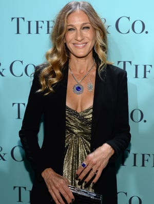 Sarah Jessica Parker attends the Tiffany & Co. Blue Book Ball at Rockefeller Center on April 18.