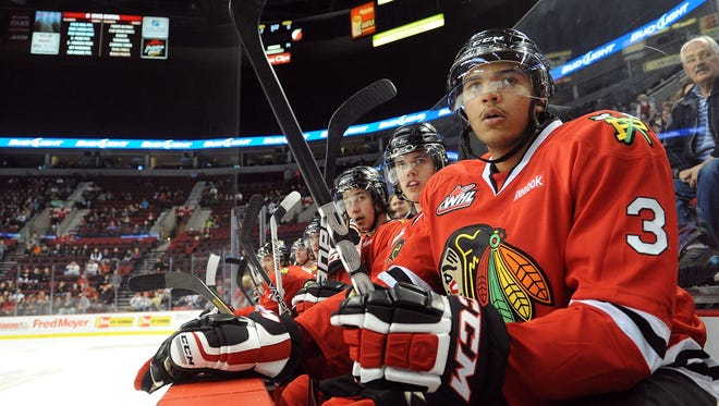 Top-ranked Portland (Ore.) Winterhawks defenseman Seth Jones started playing hockey while his dad played for the Denver Nuggets. The Colorado Avalanche own the first pick.