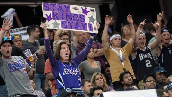 Sacramento fans have shown up pleading the Kings to stay all season.
