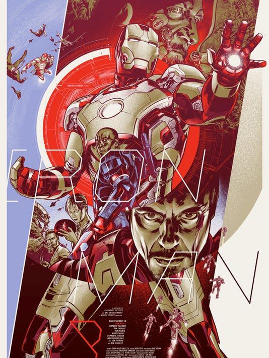 Mondo unveils three collectible 'Iron Man 3' posters