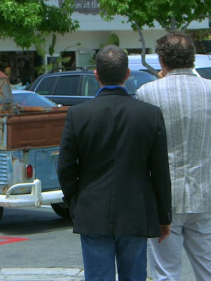 Photo from Webby Award winning Web series 'Comedians in Cars Getting Coffee. '