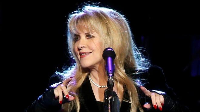 Singer Stevie Nicks of Fleetwood Mac.