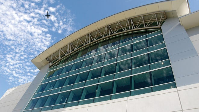 A terminal building at Cincinnati/Northern Kentucky International as seen in a file photo from 2009.