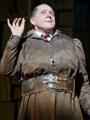 Bertie Carvel plays Miss Trunchbull in 'Matilda: The Musical.'